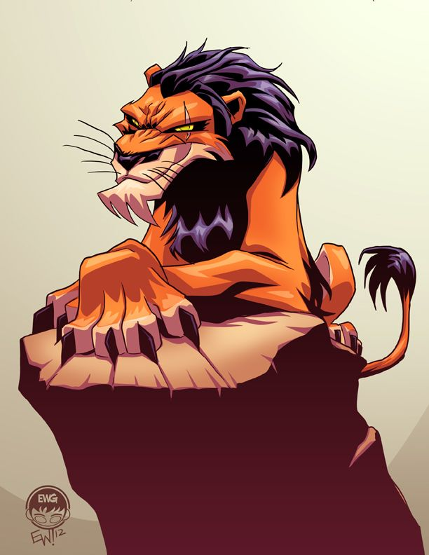 Lion King Scar - EWG Christmas Commission by EryckWebbGraphics.deviantart.com on @deviantART