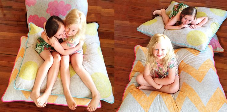 Playroom cushion for little ones
