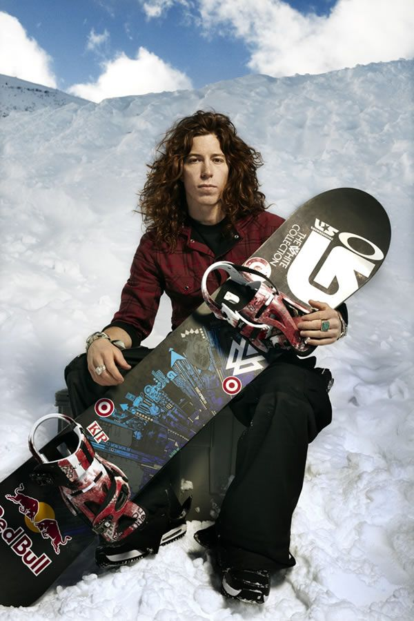 shaun white He's like the Chris Angel of the snowboarding and the skateboarding world