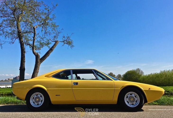 Ferrari 308 Dino Gt4 Coupe 1974 Yellow Dino Gt4 Car For Sale