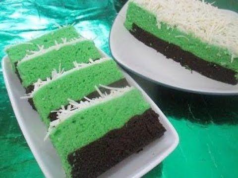 Resep Cara Membuat Lapis Kukus Surabaya Chocopandan Lembut Youtube Food Cake Indonesian Food