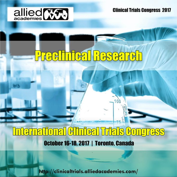 Preclinical Research Preclinical research also named #preclinicalstudies and nonclinical studies is a stage of research that begins before clinical trials, and during which important feasibility, iterative testing and #drugsafety data is collected.