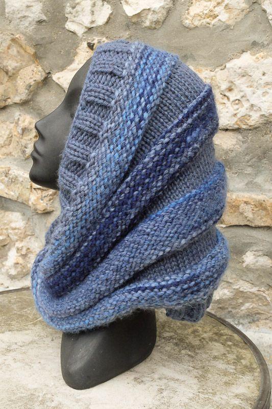 Les 25 meilleures id es de la cat gorie aiguilles circulaires sur pinterest tricoter en rond - Modele tricot aiguille circulaire ...
