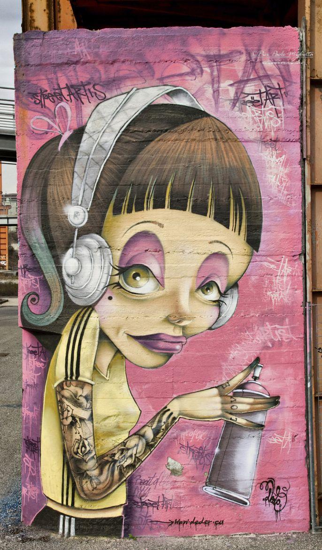 ღღ Street Art - Turin, Italy