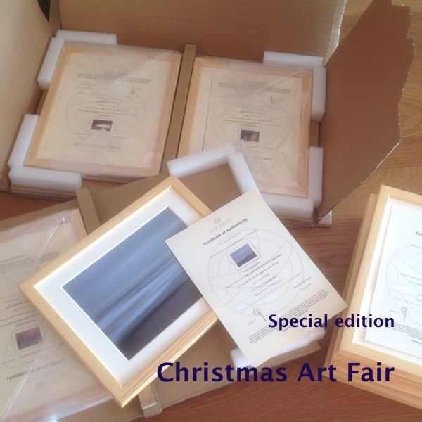 Almost finished packing 8 'Special Christmas Edition' photos that will be shipped this week to a Christmas Art Fair in the town of Corchiano in Italy. A special edition, because only on…