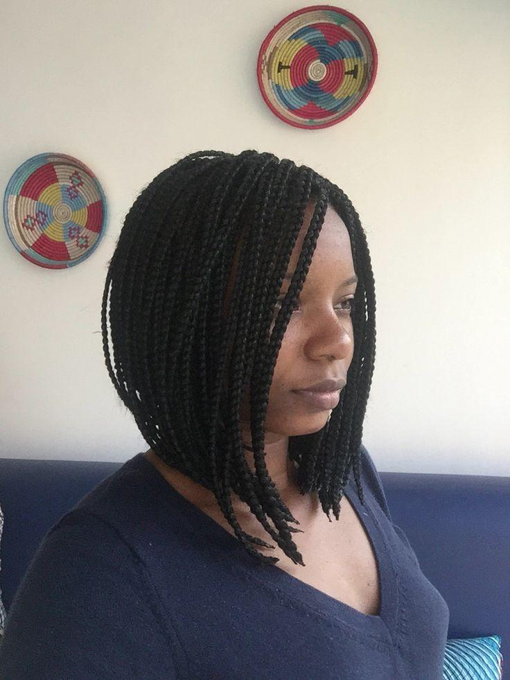 #Afro_kinky salão chanel box braid