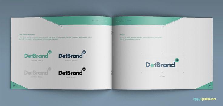 Logo Variations - Creative Rich Brand Manual Template| ZippyPixels