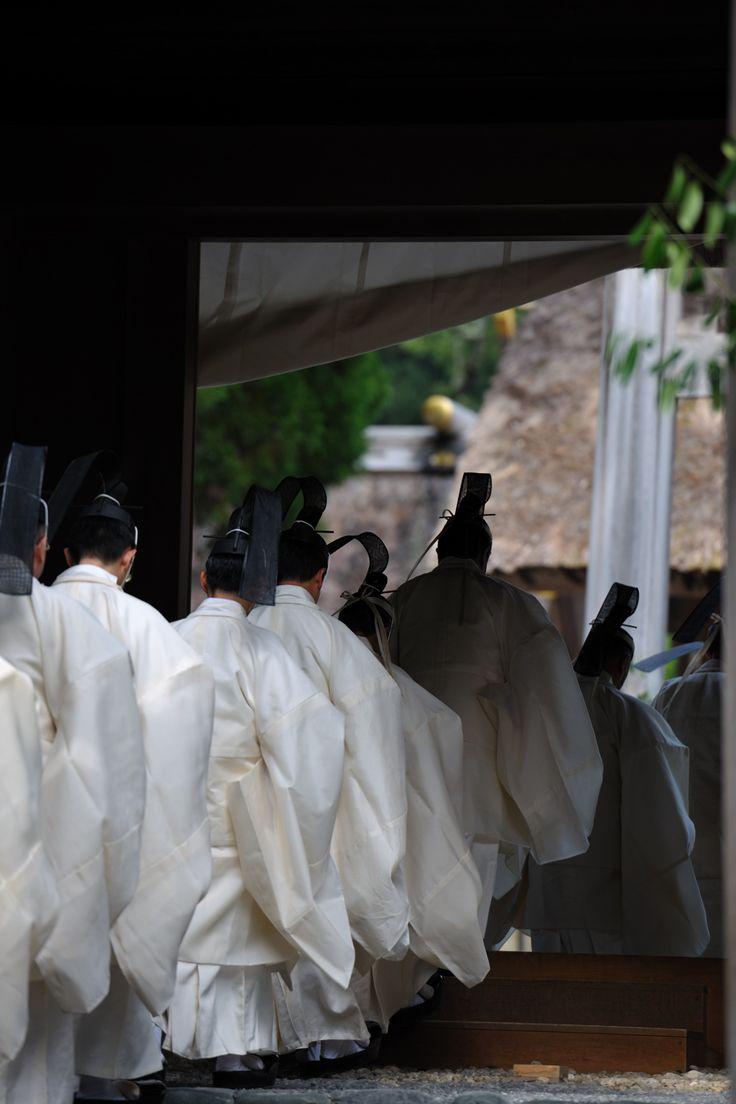 伊勢神宮 神嘗祭 「奉幣の儀」
