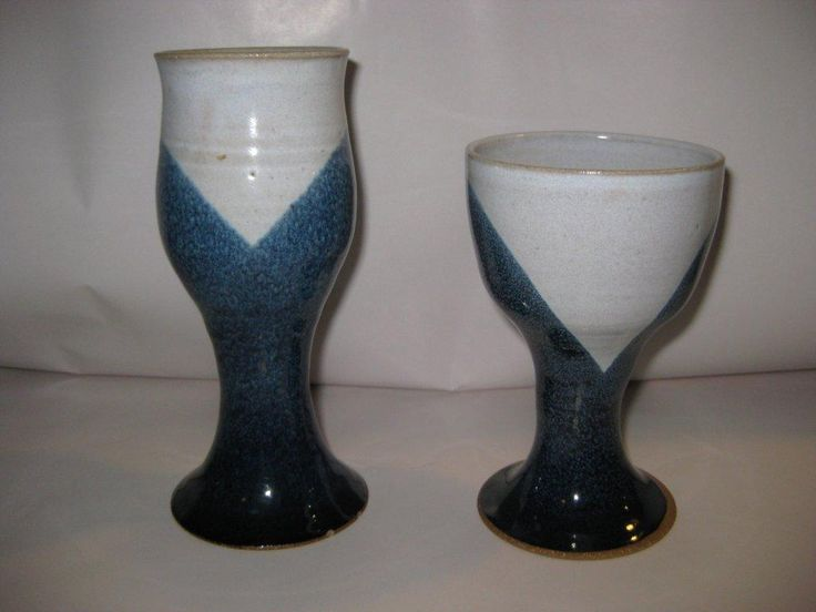 Susan Hanson's Goblets- glazed