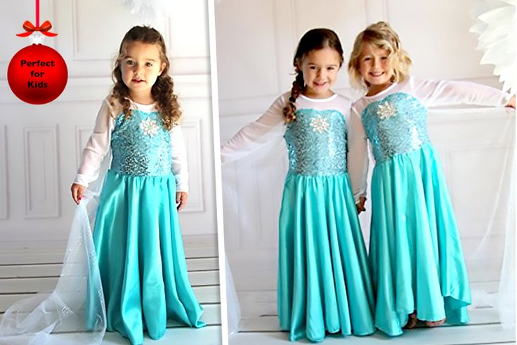 Frozen-Inspired Princess Costume