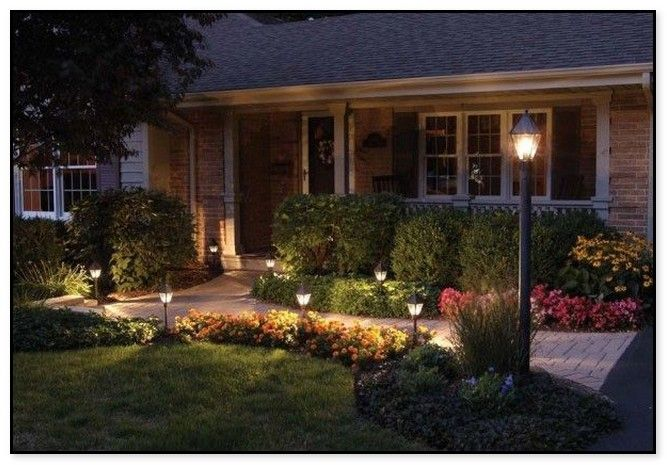 23 Stunning Traditional Outdoor Lighting Design Ideas Front Yard Landscaping Design Outdoor Lighting Design Front Yard Landscaping