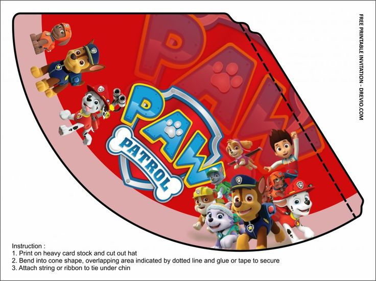 Free Printable Paw Patrol Birthday Party Kits Template Paw Patrol Birthday Paw Patrol Party Printables Paw Patrol Birthday Party