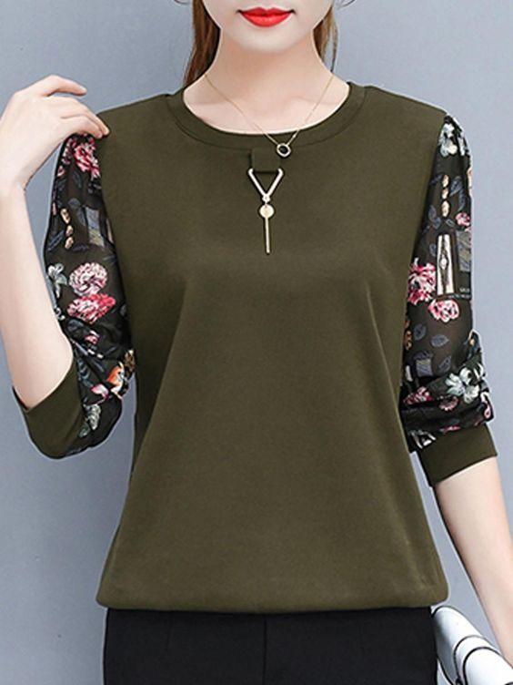 Блузки для девушек на работу украшения для девушек ручной работы