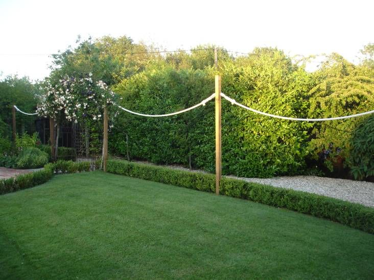 11 best garden images on pinterest cords ropes and decking for Garden decking with rope