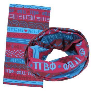 Pi Beta Phi Wide Head Buff SALE $12.95. - Greek Clothing and Merchandise - Greek Gear®