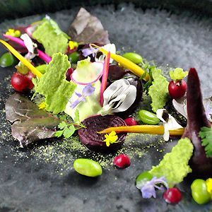 Experience degustation dining in the country at O.MY Restaurant in Beaconsfield.