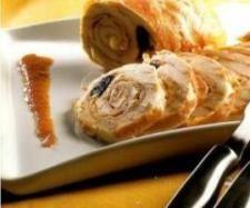 Pechuga de pavo rellena #thermomix www.robot-cocina.com