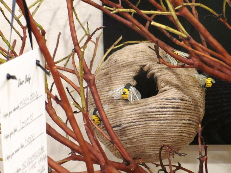 paper mache bee hive covered with jute. | winnie the pooh ...