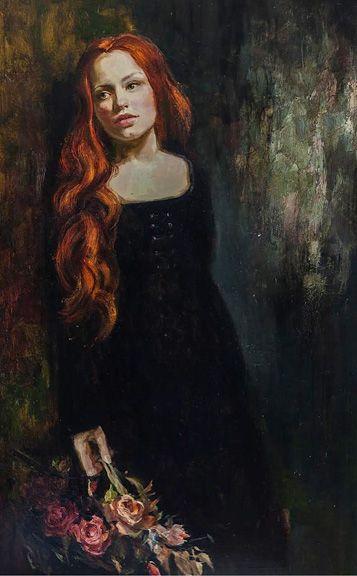"""Red Haired Beauty"" 𝓘𝓡è𝓝𝓔  𝓢𝓗𝓔𝓡𝓘,  ηéε εη 1968 εη υкяαιηε яσмαηтιqυε, ιмρяεssισηηηιsтε... ηεω яεηαιssαηcε...  ωωω.тυттαят... ωωω.ιяεηεsнεяι.cσм"