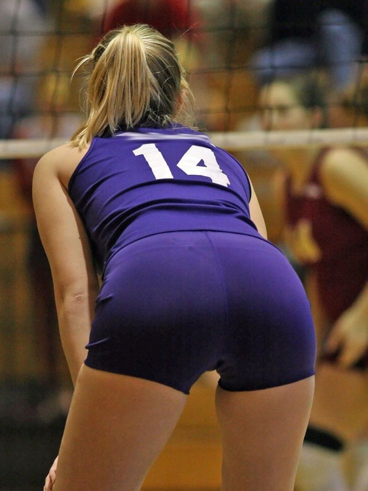 Hot Volleyball Booty Butt  Sexy Volleyball Girl-9469