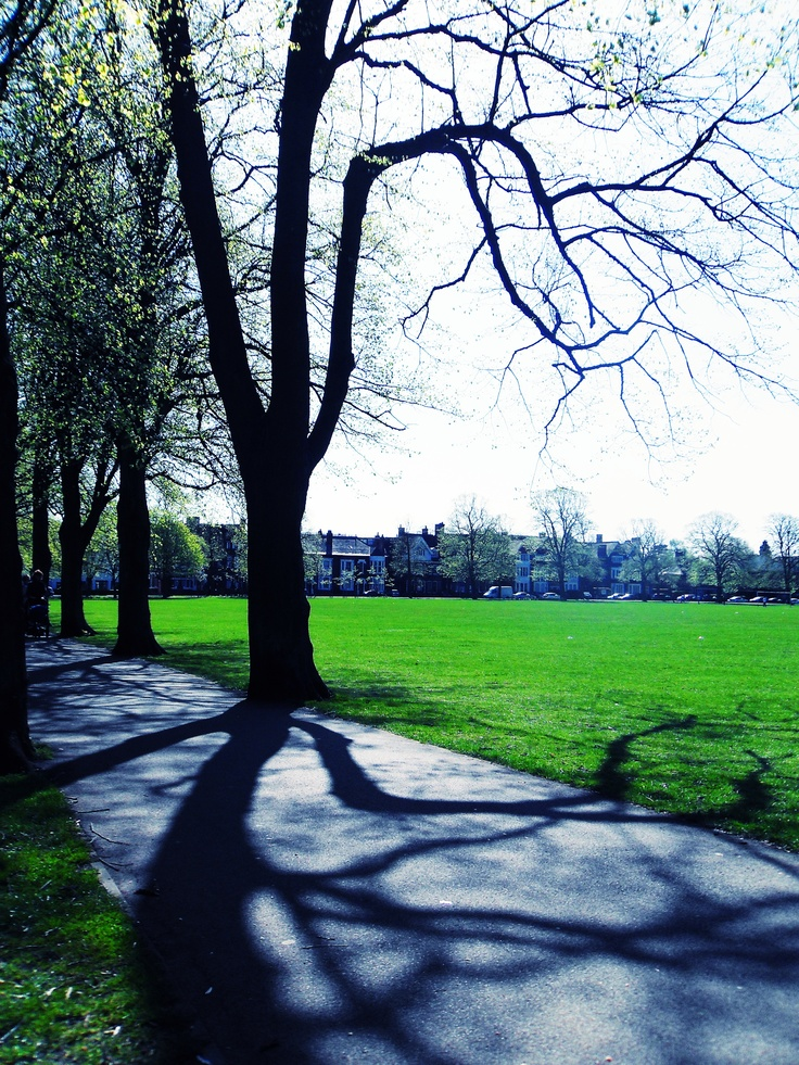 Leicester, GB : Victoria Park in spring