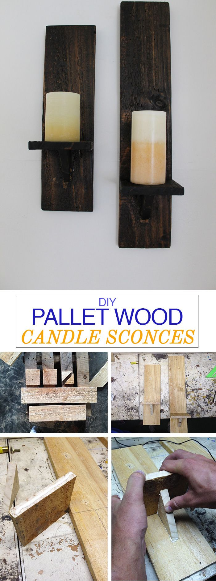 This is an easy project you can do with just a few supplies laying around the garage! Perfect for that blank wall in your home where you never knew what to hang.