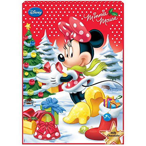 Minnie Mouse Chocolate Advent Calendar *** More info could be found at the image url.