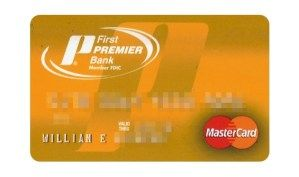 Apply For First PREMIER Bank Credit Card