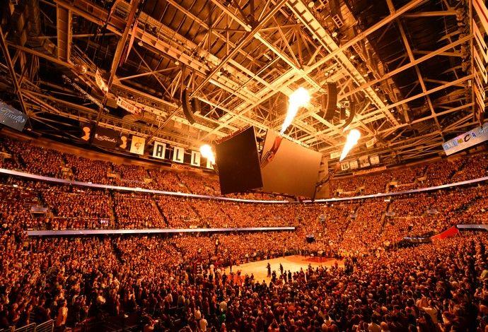 Cleveland Cavaliers Quicken Loans Arena torcida final da NBA (Foto: Getty Images)