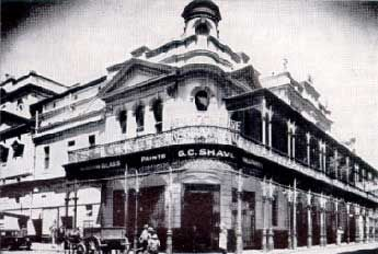 Old Opera House, Cape Town, demolished in 1937 (Cape Times)