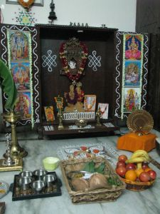 Decoration For Puja At Home