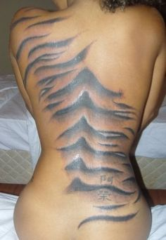 tiger stripes tattoo - Google Search