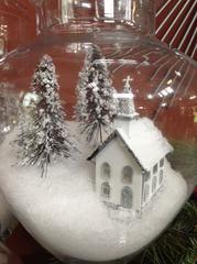 Apothecary Snow Villiage
