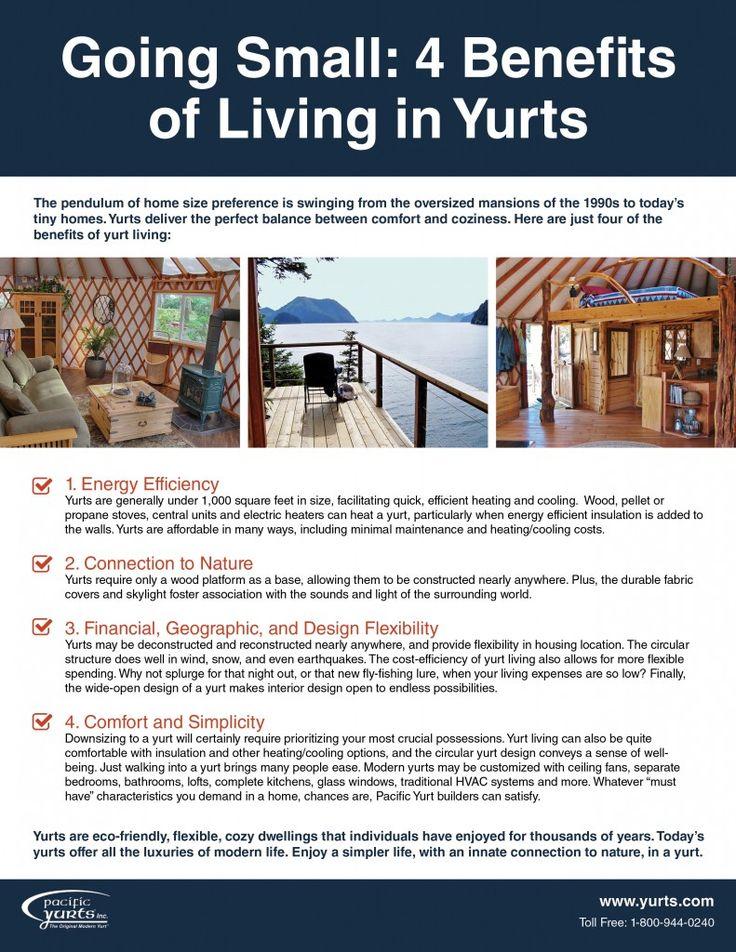 going small benefits of yurt living checklist