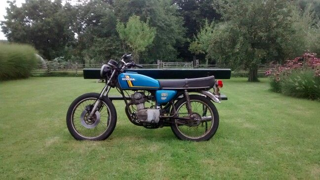 Just bought this Honda CB125J