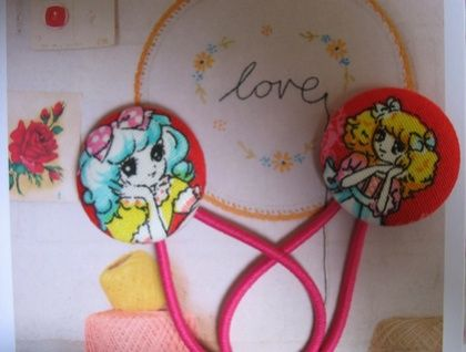 Candy Candy pair of hairties - WINTER OFFER