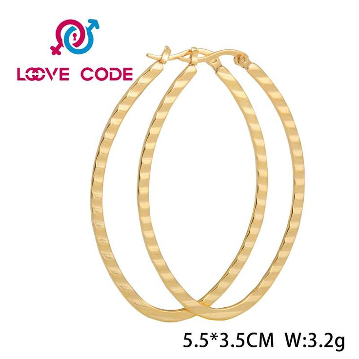 Large Thin 14k Gold Oval Hoop Earrings For Girls is composed of stainless steel. It is plated with 14 karat gold.Of course, you can also choose other colors, such as rose gold, black, blue and so on. You can choose according to their own preferences. It is designed into an oval, appearance gives people a