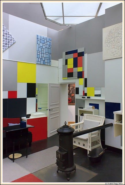 146 best images about dedicated to de stijl on pinterest modern art piet mondrian and chairs - Schorsing stijl atelier ...