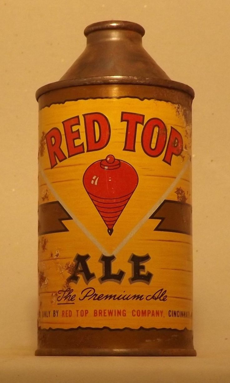Red Top Cone Top Beer Can, Cincinnati, OH, Cone-u-copia Sale ! | eBay
