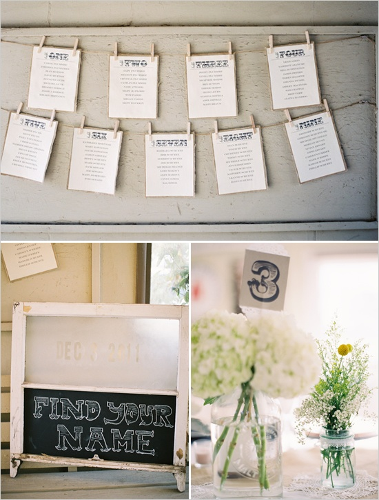 What a cute and simple way to do place cards!