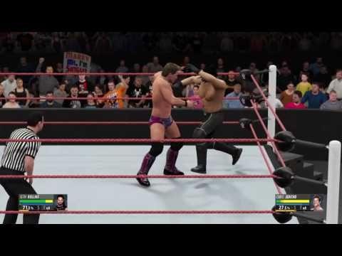 WWE 2K16: Seth Rollins vs. Chris Jericho (WWE Raw Sept. 5, 2016)