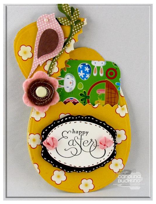 197 best gift card holders images on pinterest gift card holders easter egg gift card holder negle Images