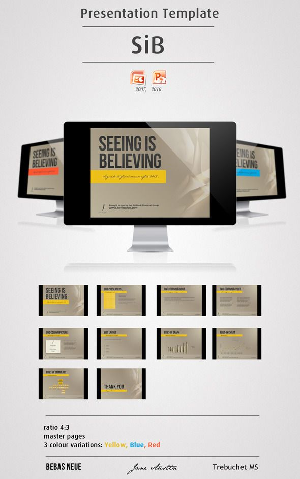 1763 best powerpoint template images on pinterest | business, Presentation templates