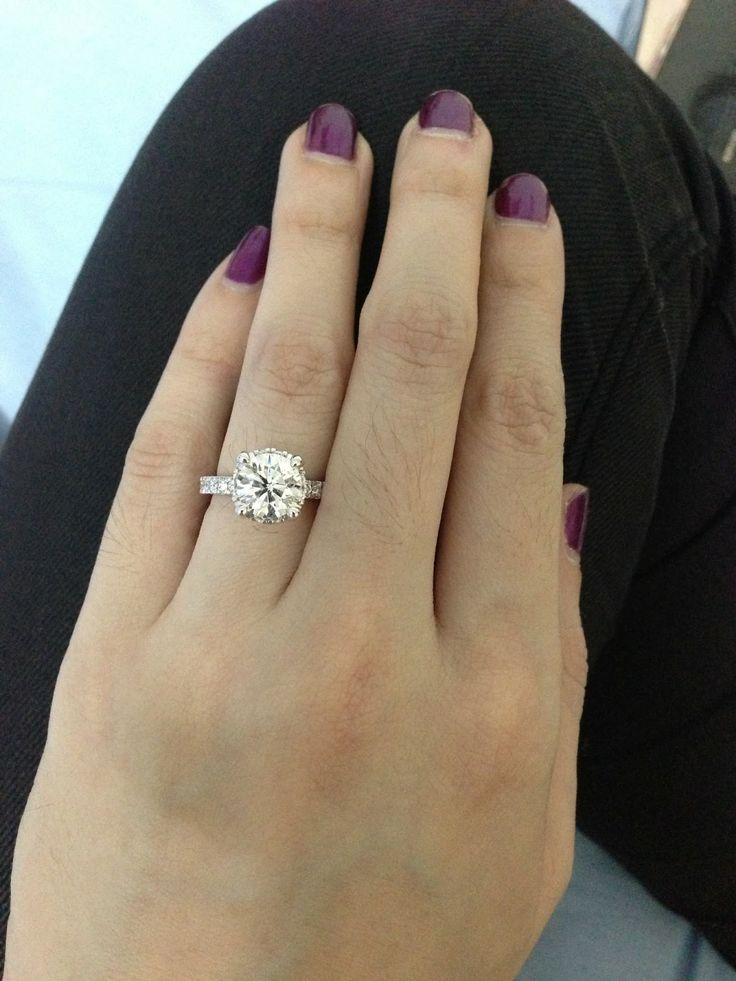 Diamond Engagement Rings Actual Size 33 Engagement Rings