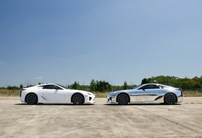 lfa, face to face, lexus, лфа, silvery, white, лексус