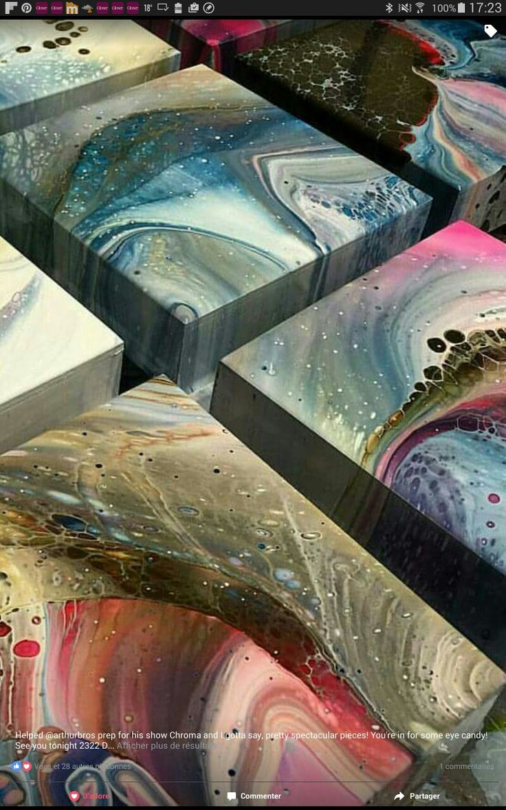 Resin Painting Techniques : Best images about resin experiments on pinterest