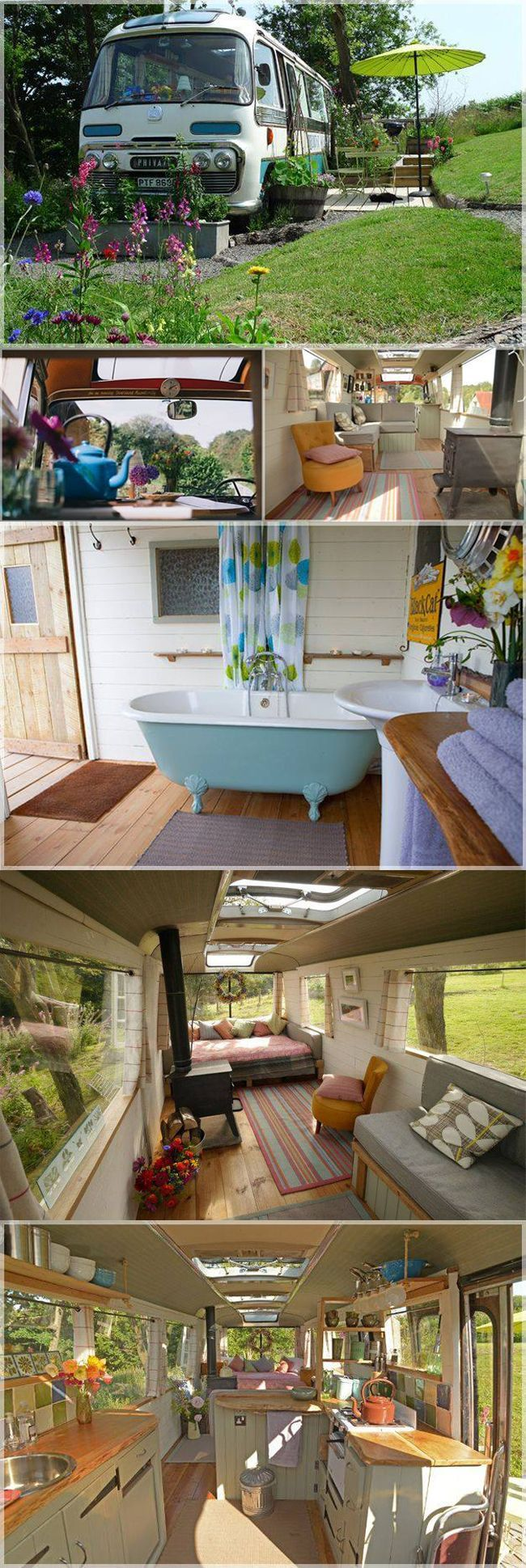 19 best car images on pinterest van living camper van conversions this bus conversion shows that there really is no limit to what you can do with a vintage bus or trailer located on the edge of the radnorshire hills miles solutioingenieria Images