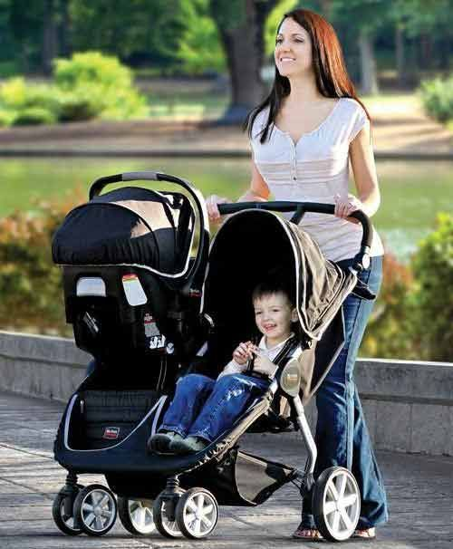 Britax B-Agile Double Stroller is the first side-by-side stroller ...