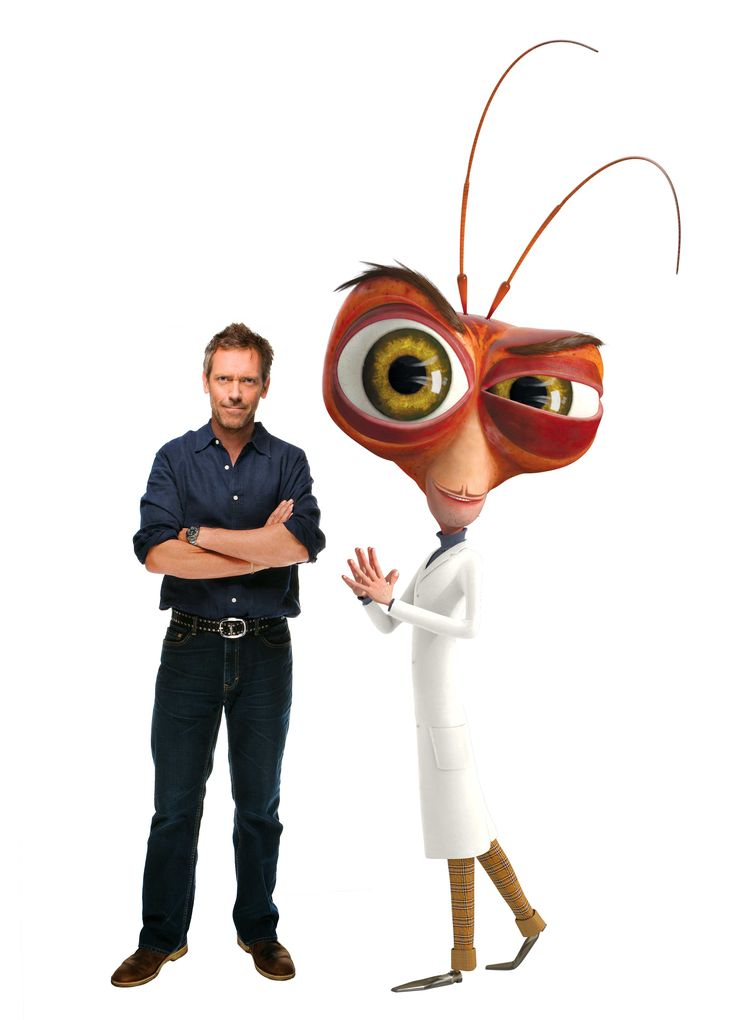 Monsters Vs Aliens - Dr. Cockroach/Hugh Laurie