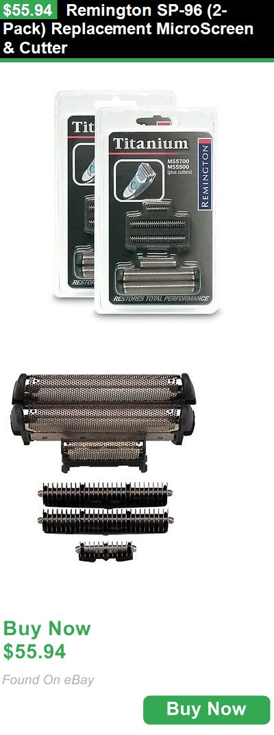 Shaver Parts and Accessories 139844: Remington Sp-96 (2-Pack) Replacement Microscreen And Cutter BUY IT NOW ONLY: $55.94